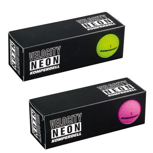 Komperdell Golfbälle Velocity Neon